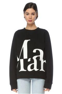 Maison Margiela Kadın SWEATSHIRT Siyah M EU(126468746)