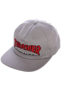 Thrasher Outlined Snapback Cap grijs(92509443)