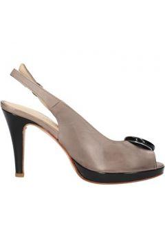 Sandales Pellina sandales gris cuir AF783(115393406)