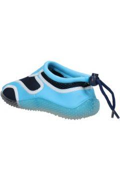 Baskets enfant Everlast sneakers bleu textile celeste caoutchouc AF852(115395281)