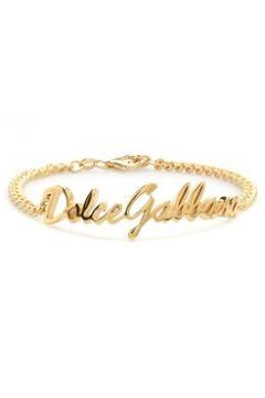 Dolce&Gabbana Erkek Gold Logo Detaylı Bilezik Altın Rengi EU(118059612)