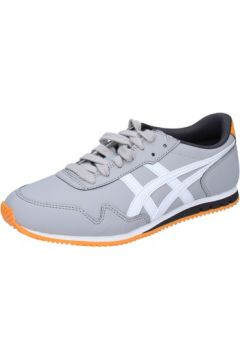 Chaussures Onitsuka Tiger sneakers gris cuir AH828(115400540)