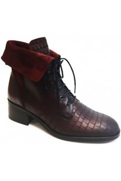 Bottines PintoDiBlu Boots plates Rouge(115590356)