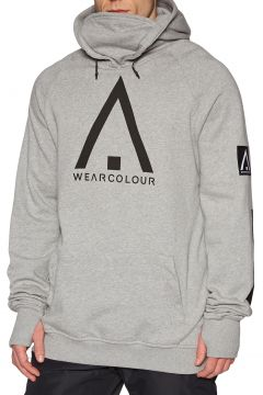 Wear Colour Bowl Kapuzenpullover - Grey Melange(100271035)