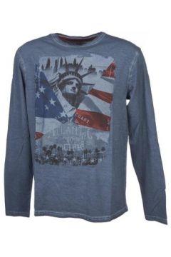 T-shirt Rms 26 Atlantic bleu ml tee(127855727)