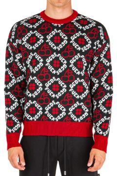 Men's crew neck neckline jumper sweater pullover(118071838)