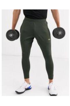 ASOS 4505 - Joggers da allenamento super skinny kaki con logo-Verde(120245422)