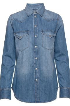 De-Ringy Shirt Langärmliges Hemd Blau DIESEL WOMEN(100458905)
