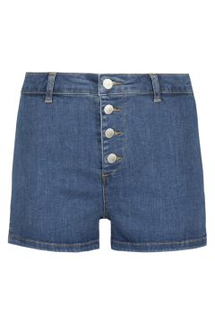 High Waist Denim Shorts(111016599)