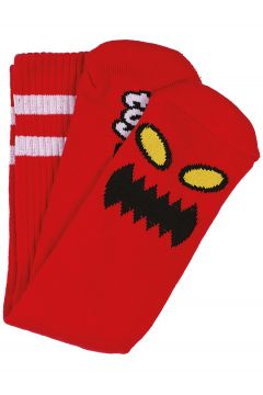 Toy Machine Monster-Face Socks rood(108827160)