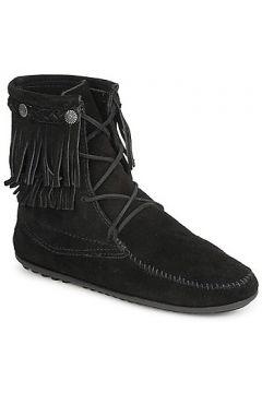 Boots Minnetonka DOUBLE FRINGE TRAMPER BOOT(88438792)
