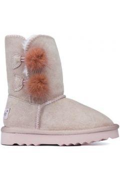 Boots enfant Oca Loca Bottes Oca Loca Pompon Rose(115404716)