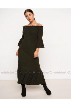 Khaki - Dresses - DeFacto(110335245)