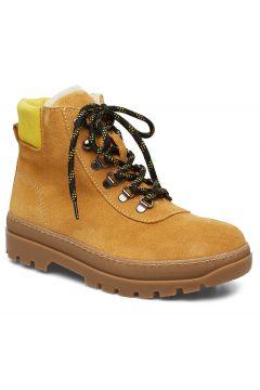 Hiker Boot 6724 Shoes Boots Ankle Boots Ankle Boots Flat Heel Gelb SAMSØE SAMSØE(114159363)