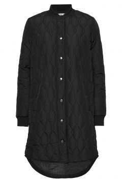 Kashally Quilted Coat Steppjacke Schwarz KAFFE(114157444)