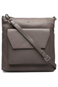Joanna Crossbody Bag, Grain Bags Small Shoulder Bags - Crossbody Bags Grau MARKBERG(109112868)