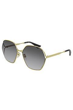 Солнцезащитные очки oval fork - Gucci(125441114)