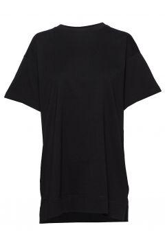 Over D Tee T-Shirt Top Schwarz FILIPPA K SOFT SPORT(114154524)