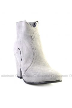 Gray - Boot - Boots - Bambi(110331370)