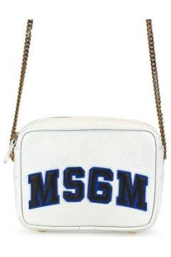 Sac Bandouliere Msgm Femme Blanc Cuir Sac A Bandouliere(127904263)
