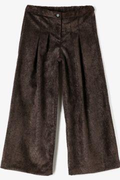 Koton Kız Çocuk Kadife Sim Baskili Pileli Pantolon(121732352)