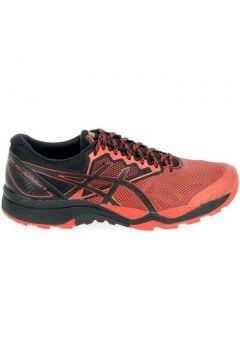 Chaussures Asics Fujitrabuco 6 Noir Rouge(115460124)