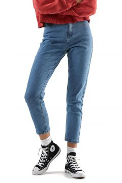Afends Blondies Denim Slim Damen Jeans - Classic Blue(114586932)