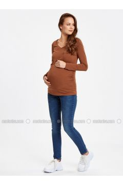 Indigo - Maternity Pants - LC WAIKIKI(110333684)