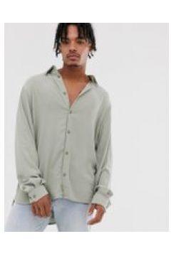 Weekday - Camicia verde chiaro a coste(120275535)