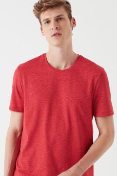 Mavi Kırmızı Basic T-Shirt(113999116)