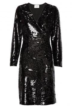 Xena Dress Kleid Knielang Schwarz JUST FEMALE(114164825)