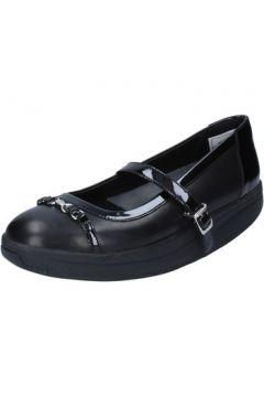 Ballerines Mbt ballerines noir cuir cuir verni BY966(115401736)