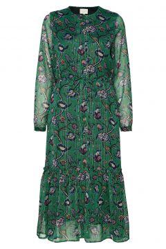 Anastacia Dress Kleid Knielang Grün LOLLYS LAUNDRY(114164288)