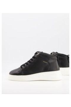 Fiorelli - Pippa - Sneakers alte in pelle nera-Nero(124797090)