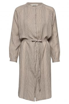 Inga Kleid Knielang Beige GAI LISVA(114164327)