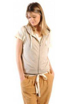 Sweat-shirt American Vintage ZIPPER CAPUCHE PRA193E11 SABLE CHINE(115471442)