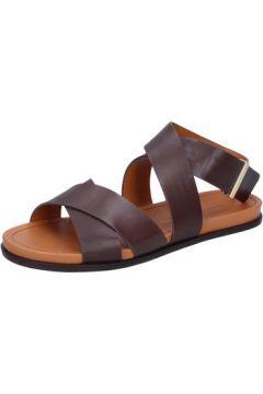 Sandales What For sandales marron cuir BZ298(115491094)