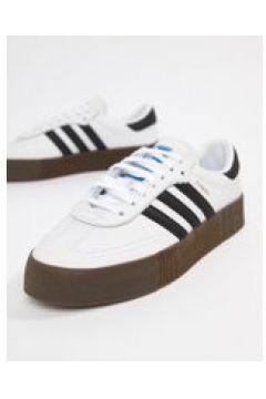 adidas Originals - Samba Rose - Sneaker in Weiß und Schwarz - Weiß(95024937)