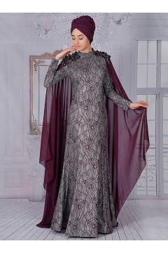 Robe De Soirée Modeste Nurkombin Prune(127846498)