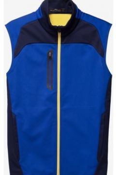 Gilet Lauren Ralph Lauren Fz Vest Sleeveless Knit Dark blue(115483685)