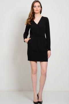 Yas V Yaka Mini Elbise 36 5000107388002(96188467)