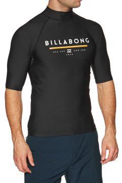 Billabong Unity Short Sleeve Rash Vest - Black(100268890)
