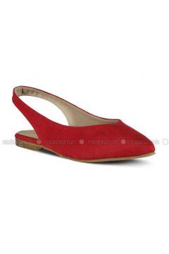 Red - Flat - Flat Shoes - Marjin(110337929)