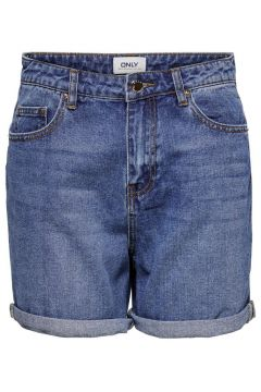 ONLY Onlphine Life Denim Shorts Damen Blau(114173832)
