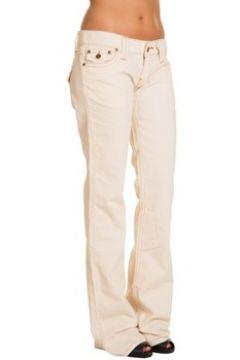 Jeans Pull And Bear Pantalon en velours Pull Bear Beige(115460418)