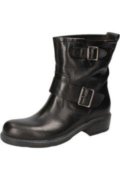 Bottines Cruz bottines noir cuir AD501(115393729)