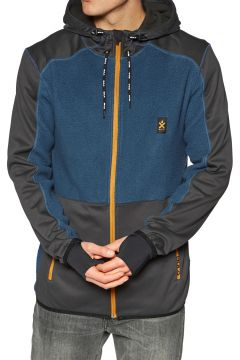 Polaire Bula Fleece Zip Hood - Denim(111320321)