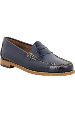 Chaussures Bass Weejuns GH BASS CO Weejun Penny Wheel vernis Femme Navy(88513481)