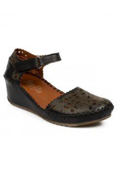 Stella 20265z Casual Günlük Siyah Kadın Sandalet(110947441)
