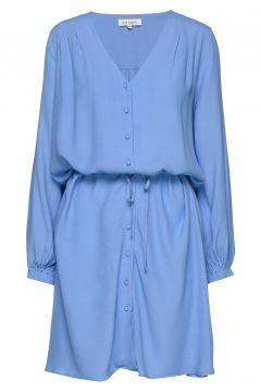 Lilian Kurzes Kleid Blau SIX AMES(108574261)